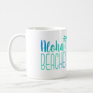 Aloha Beaches | Turquoise Ombre Mug