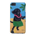 Aloha Black Labrador Painting iPod Touch (5th Generation) Cover