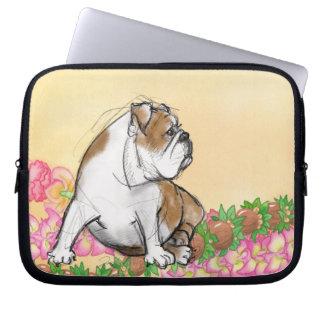 Aloha Bulldog Laptop Sleeve