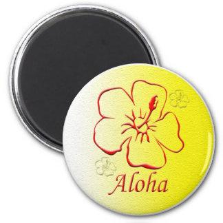 Aloha Button copy Refrigerator Magnet