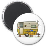 Aloha Camper Trailer 2 Inch Round Magnet
