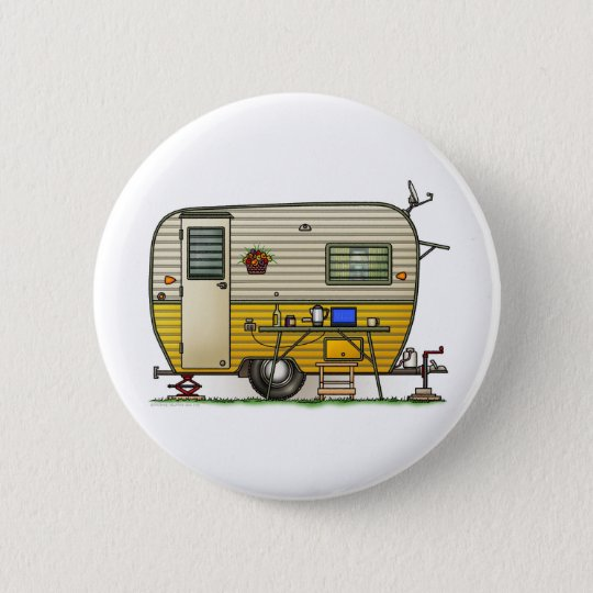 Aloha Camper Trailer Button