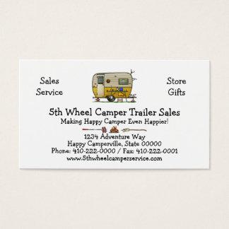 Aloha Camper Trailer M Business Card