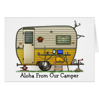Aloha Camper Trailer M Card