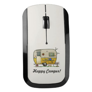 Aloha Camper Trailer Wireless Mouse