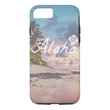 Beach Themed aloha case
