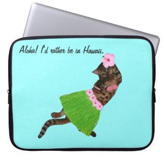 Aloha Cat Computer Sleeve