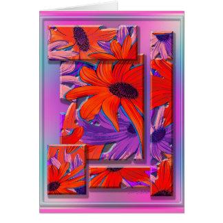 Aloha Daisey Card