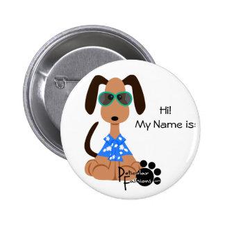 Aloha Deojee Name Badge Button