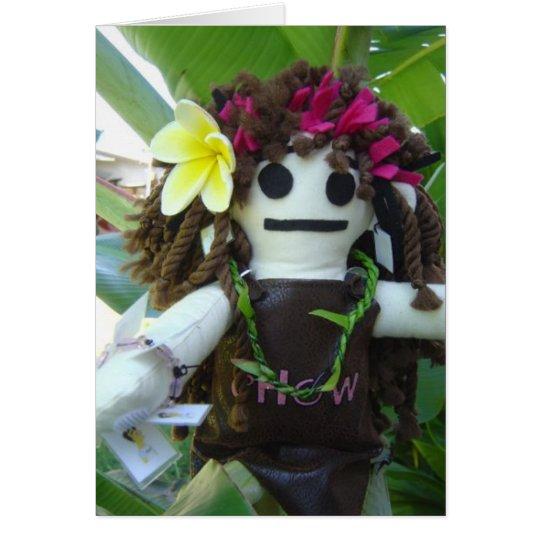 Aloha Dolly Tour 2009 Card