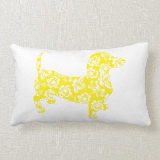 Aloha Doxie Dachshund Pillow