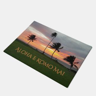 Aloha E Komo Mai Doormat