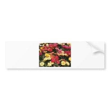 Beach Themed Aloha  Floral Luau Flowers Party Shower Office Art Bumper Sticker