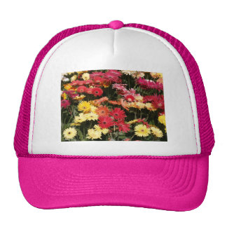 Aloha Floral Luau Flowers Party Shower Office Art Hats