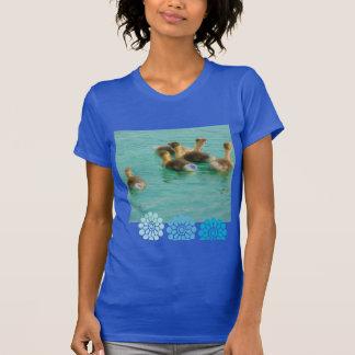 Aloha  Floral Luau Flowers Party Shower Office Art T-Shirt
