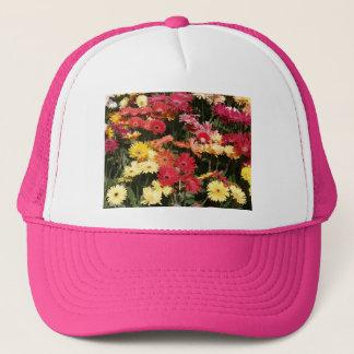 Aloha  Floral Luau Flowers Party Shower Office Art Trucker Hat