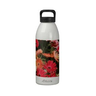 Aloha  Floral Luau Flowers Party Shower Office Art Water Bottle