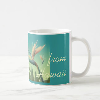 Aloha from Hawaii Bird of Paradise Mug