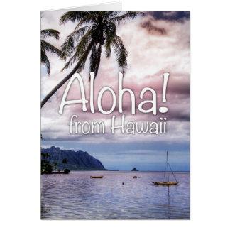 Aloha From Hawaii! Greeting Card