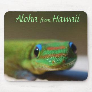 Aloha from Hawaii Gecko Mouse Pad
