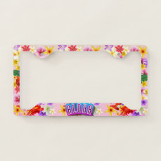 Aloha From Hawaii! License Plate Frame