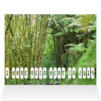 Aloha from Hawaii memory postcard Greeting Card