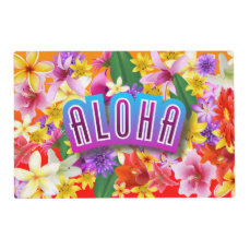 Aloha From Hawaii! Placemat