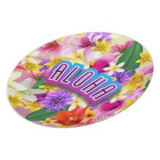 Aloha From Hawaii! Plate
