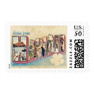 Aloha from Hawaii Postage Stamp
