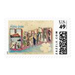 Aloha from Hawaii Postage Stamp Stamp