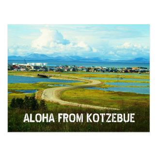 aloha from kotz postcard