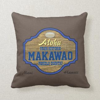 Aloha from Makawao, Hawaii Pillow