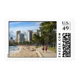 Aloha from Waikiki Beach! Stamps