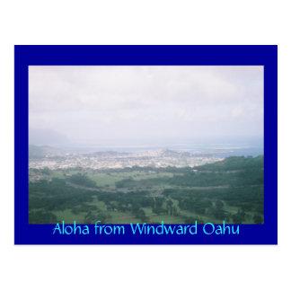 Aloha from Windward Oahu Postcard