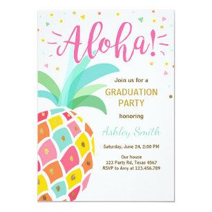 hawaii graduation invitations zazzle
