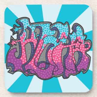 Aloha Graffiti Coaster