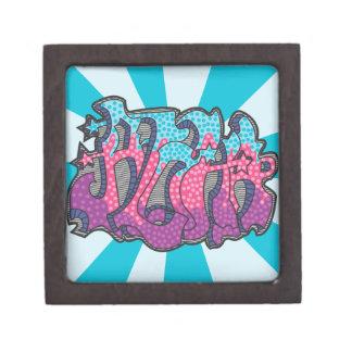 Aloha Graffiti Gift Box Premium Trinket Box