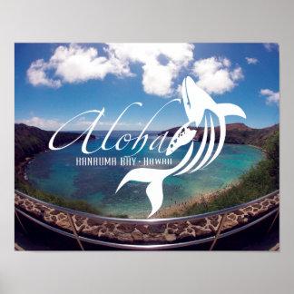 Aloha Hanauma Bay Hawaii Poster