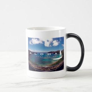 Aloha Hanauma Bay Hawaii Surfing Magic Mug