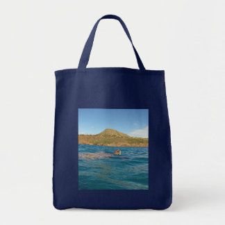 Aloha Hanauma Bay Hawaii Tote Bag