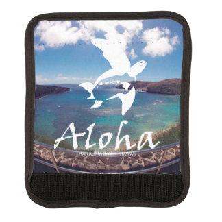 Aloha Hanauma Bay Hawaii Turtle Luggage Handle Wrap