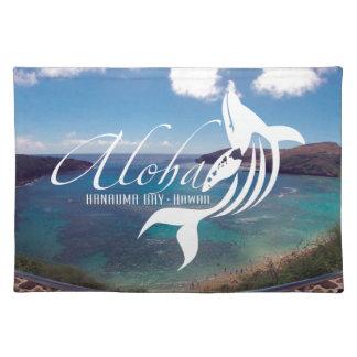 Aloha Hanauma Bay Hawaii Whale Placemat