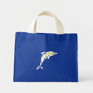 Aloha Hawaii Dolphins Canvas Bag