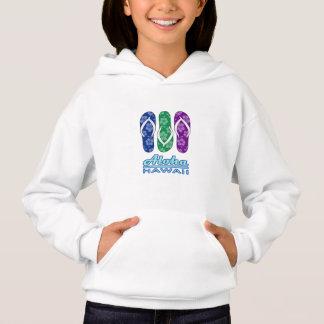 ALOHA - Hawaii Flip Flops Hoodie