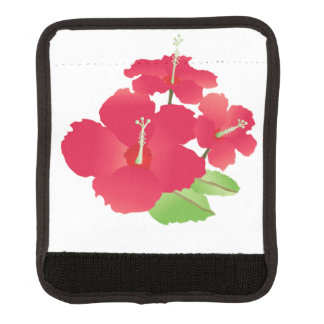Aloha Hawaii Flowers Luggage Handle Wrap