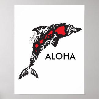 Aloha Hawaii Hanauma Bay Poster
