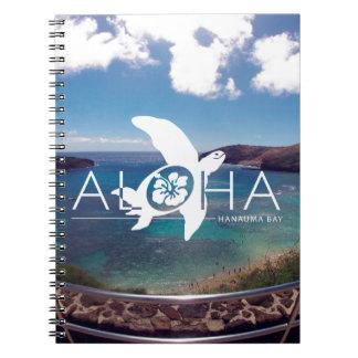 Aloha Hawaii Honu Turtle Note Book