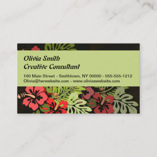 Hula dancing business cards templates zazzle aloha hawaii hula dance art print business card reheart Gallery