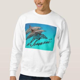 Aloha Hawaii Islands and Hawaii Dolphins Sweatshirt