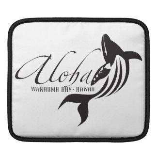 Aloha Hawaii Islands and Whale iPad Sleeve